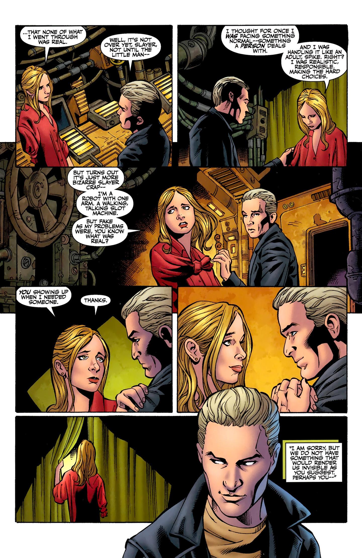 Read online Buffy the Vampire Slayer Season Nine comic -  Issue #8 - 17