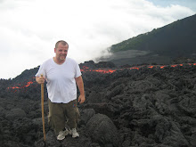 Suffering nearby the lava