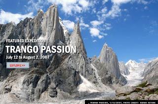 The Trango Towers group - Pakistan