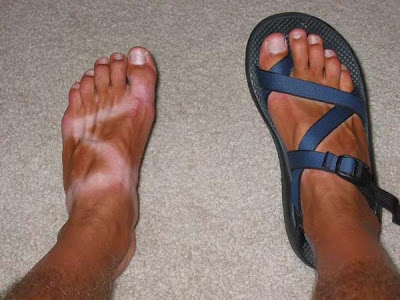 Doug Becker and his super Chaco Z tan