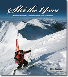 Ski the 14ers book from Chris Davenport - Colorado's 54 14ers were skied in a year.