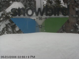 Snowbird Powder Day in May of 2008