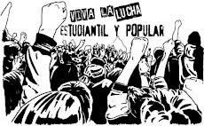 viva la lucha estudiantil y popular