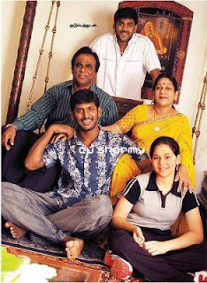 South Indian Actors Family Photos