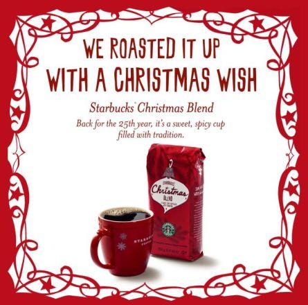 Starbuck Christmas Blend