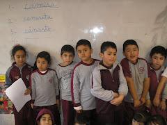 alumnos y alumnas primero Taramarugo