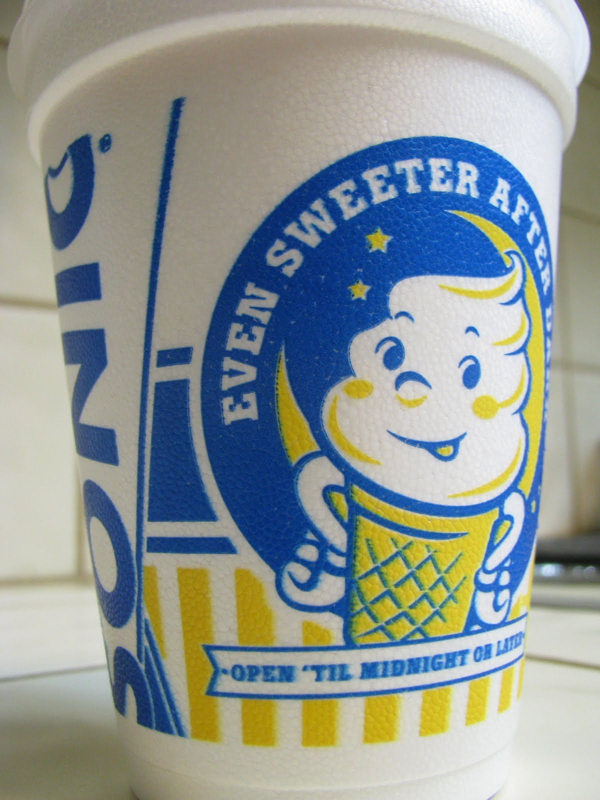 Corrie Food: Sonic's Strawberry Cream Slush