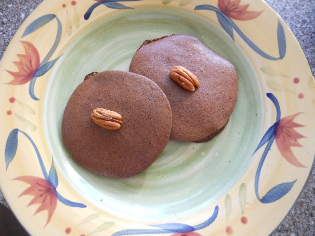 Snacking Squirrel: Brownie Batter Pancakes
