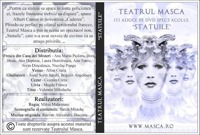 Coperta DVD Statuile