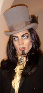 Adam Lambert Victorian gothic vampire