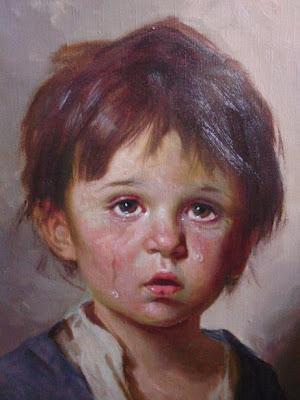 Cuadros de los Niños llorones Hujvio