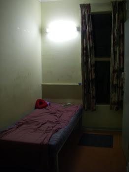 University dorm room