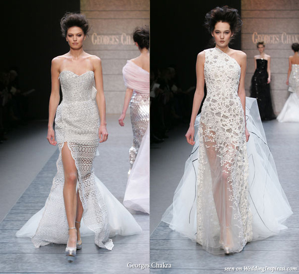 The trend wedding dresses for Lebanese wedding dress designers