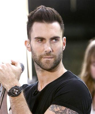 Adam Levine Populer Hairstyle Picture