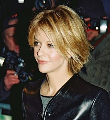 Meg Ryan Short Layered Woman Hairstyles