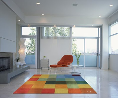 Floor Rugs and Luxury Carpets Interior