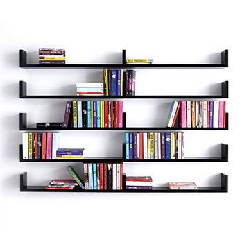 The Simply Elegant Bookshelf Design
