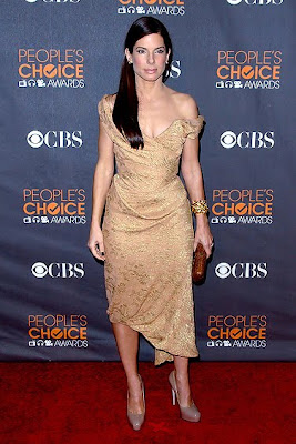 2010 Sandra Bullock Celebrity Hairstyles