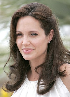 medium length women hairstyles. Angelina Jolie Medium Length