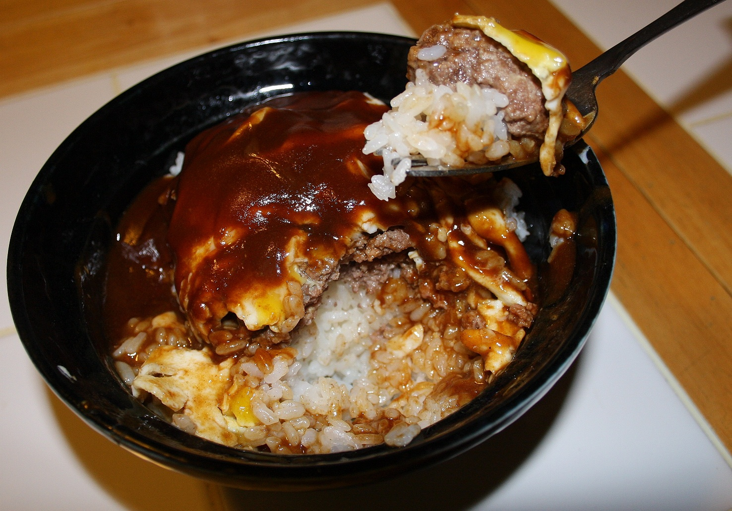 how to make loco moco