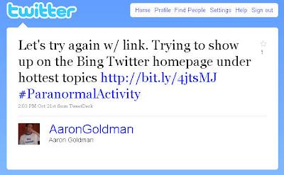 Bing Twitter SEO