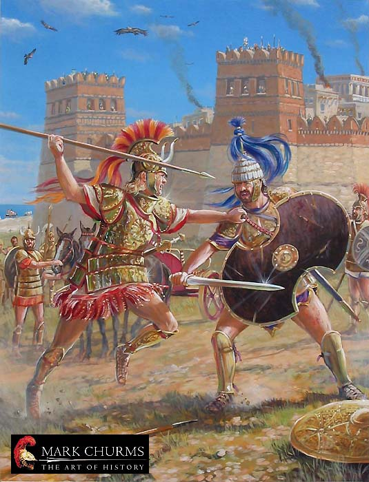 Achilles greek warrior story