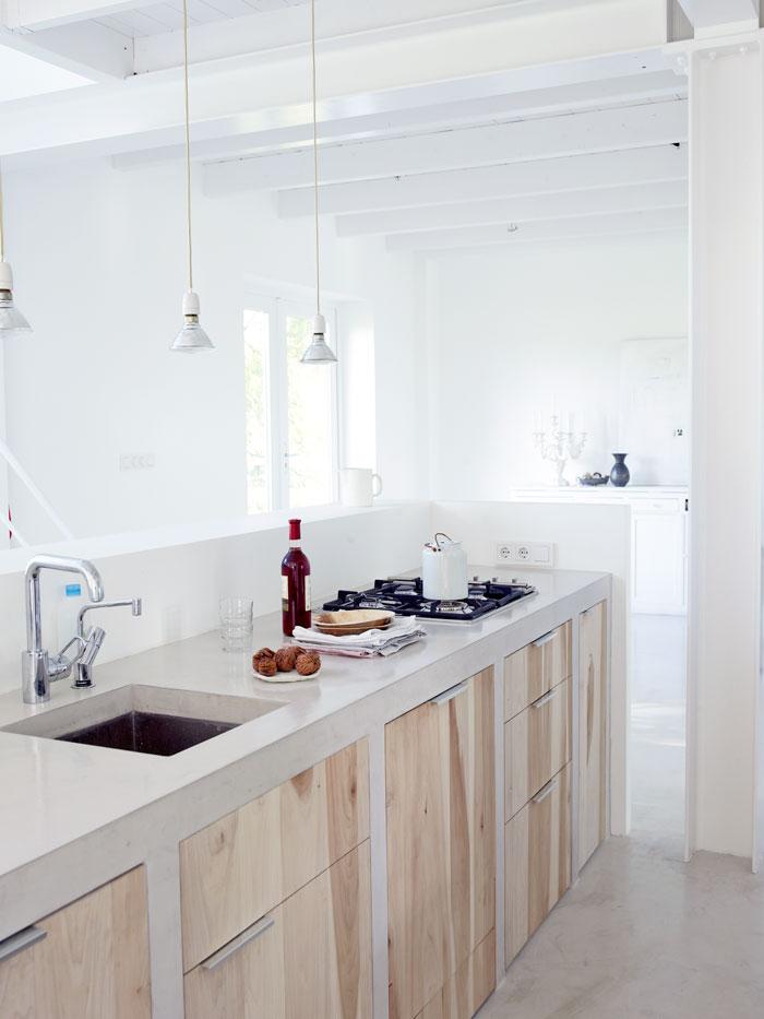 1000  ideeën over lichte houten keukens op pinterest   lichte ...