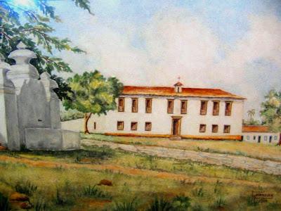 Obra de Goiandira do Couto: quadro do Largo do Chafariz