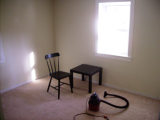 dining room, empty