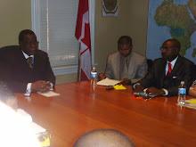 Embaixador de Angola-Canada, PR da Capital, PR da CAM