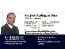 Um advogado constitui uma rede social importante na vida