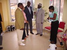 Numa atmosfera de paz os angolanos se juntaram para confraternizar com a nova directoria da CAM