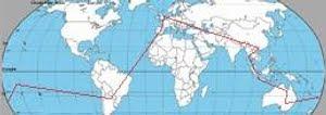 mapa, itineario vuelta al mundo, vuelta al mundo de Asun y Ricardo, round the world, mundoporlibre.com