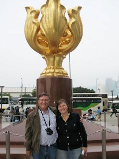 Monumento de la Reunificación,Forever Blooming, Hong Kong, China, vuelta al mundo, round the world, La vuelta al mundo de Asun y Ricardo