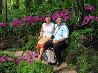 Jardín Nacional de Orquídeas,National Orchid Garden,Singapur, Singapore, vuelta al mundo, round the world, La vuelta al mundo de Asun y Ricardo