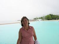 Playa artificial, The Lagoon, Cairns, Australia, vuelta al mundo, round the world, La vuelta al mundo de Asun y Ricardo