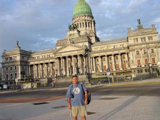 Palacio de Congresos, Buenos Aires, Argentina, vuelta al mundo, round the world, La vuelta al mundo de Asun y Ricardo