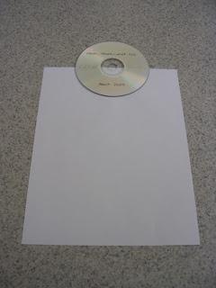 兎の穴 cdケースを自作してみる how to make a folder paper cd case