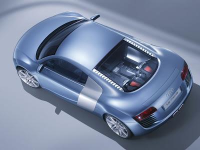 2003 Audi Nuvolari Quattro Concept. Audi Le Mans/Audi R8