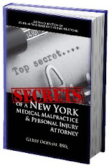 FREE BOOK! SECRETS OF A NEW YORK MEDICAL MALPRACTICE ATTORNEY