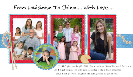 From Louisiana To China.... With Love....