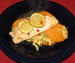 Nico 39 s eats oven steamed tilapia fillets for Steam fish in oven