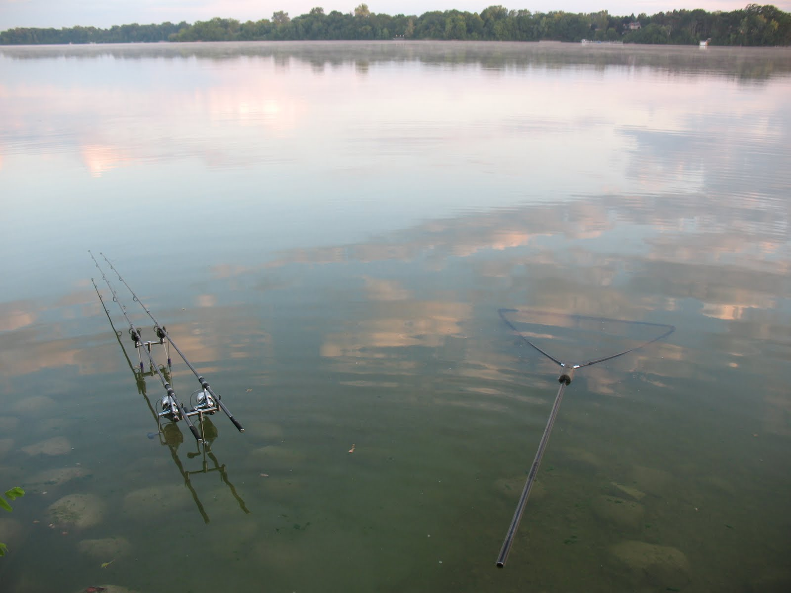донная снасть на озере