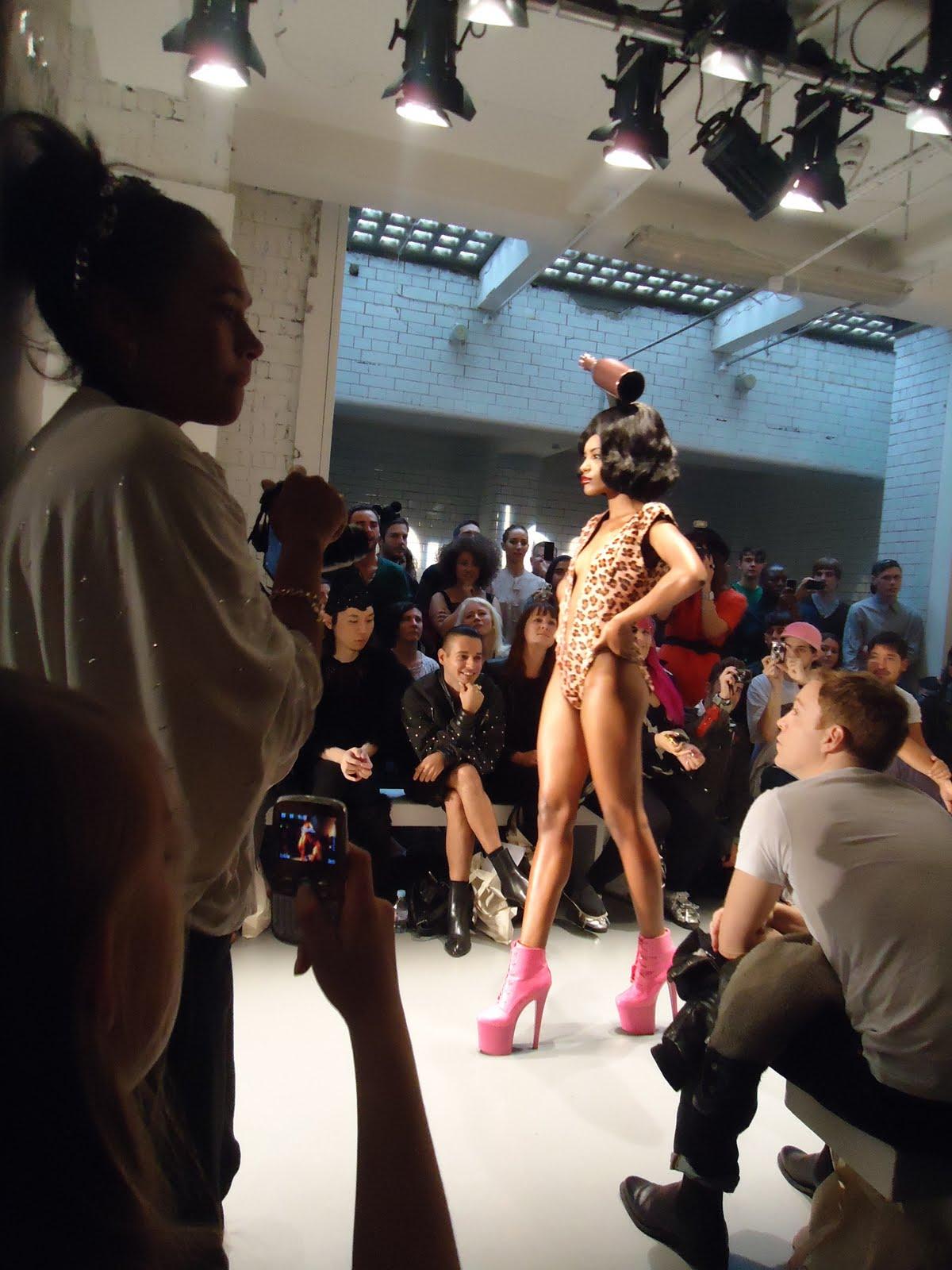 Charlie le mindu fashion show video 33