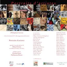 "Portraits d'artistes"""