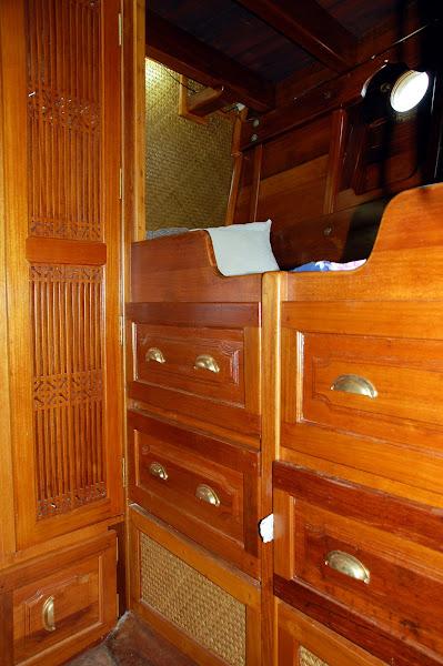 Crew quarters, first mates berth :