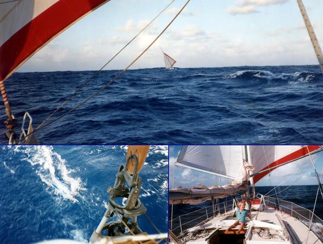 Direction les îles du Cap Vert