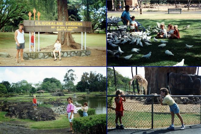 "Visite de ""Liliuokalani Gardens"""