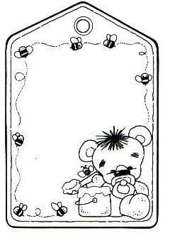 Recuadros para notas for Carpetas para jardin de infantes