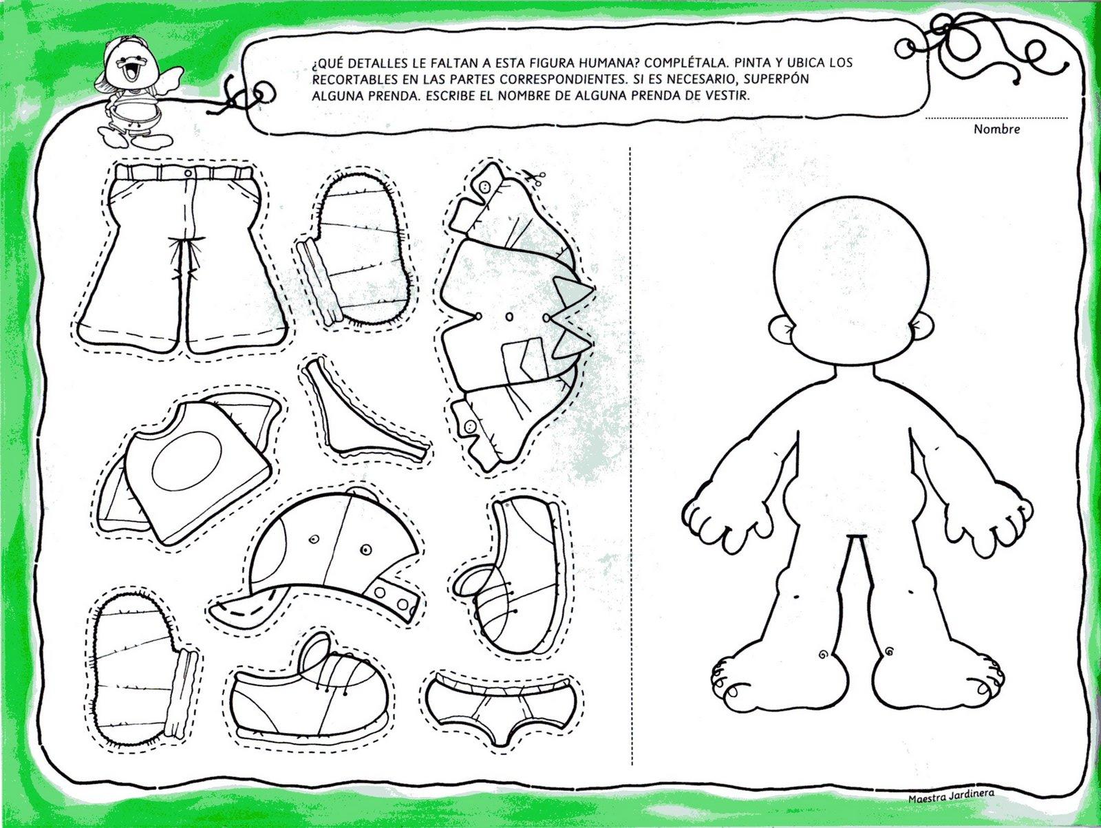 Le agradezco a valeria manzelli por compartir con nosotros for Actividades para el jardin de infantes